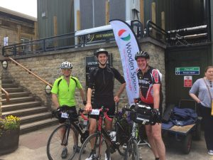 3be724d4a The team were blessed with a fantastic day and all managed to complete the  ride